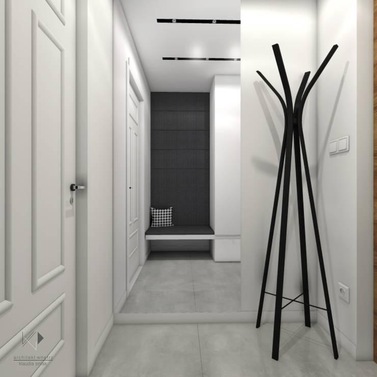 Wiatrołap: styl , w kategorii  zaprojektowany przez Architekt wnętrz Klaudia Pniak