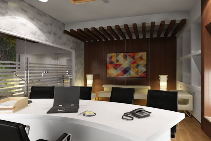 Bora Office:   by axii design consultant pvt.ltd.