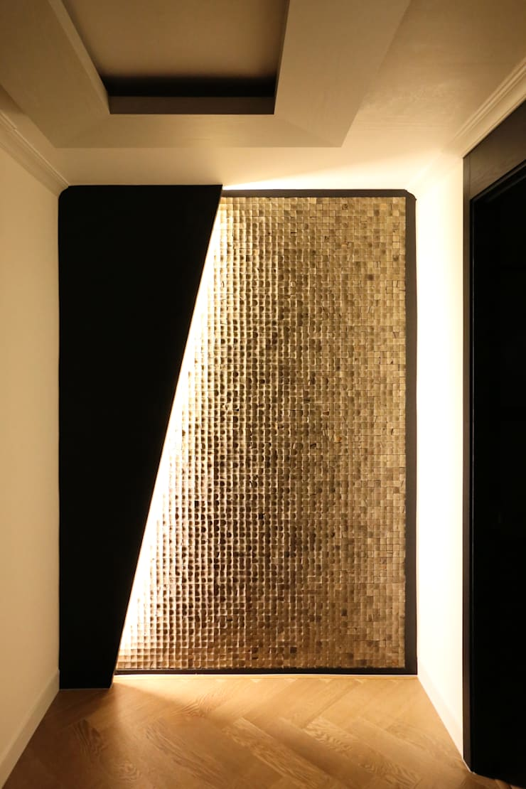 부천 중동 은하마을 48평형 아파트: 금화 인테리어 의  벽