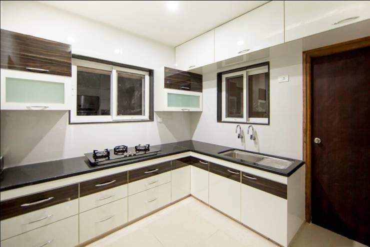 Kitchen2: minimalistic Kitchen by ARK Architects & Interior Designers