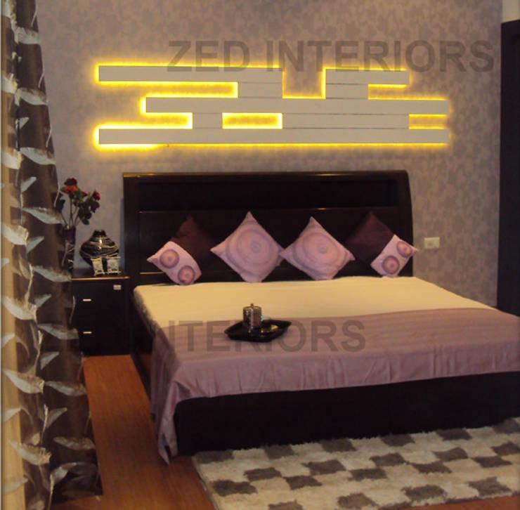 Bedroom Designs:  Bedroom by ZED Associates Pvt. Ltd.,Modern