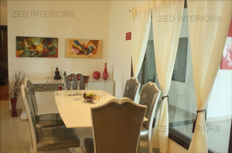 Dining room by ZED Associates Pvt. Ltd.