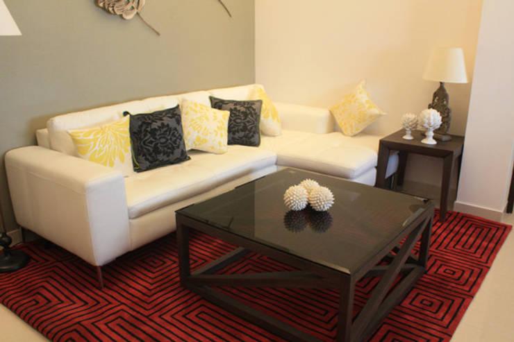 Living Area Designs: modern Living room by ZED Associates Pvt. Ltd.