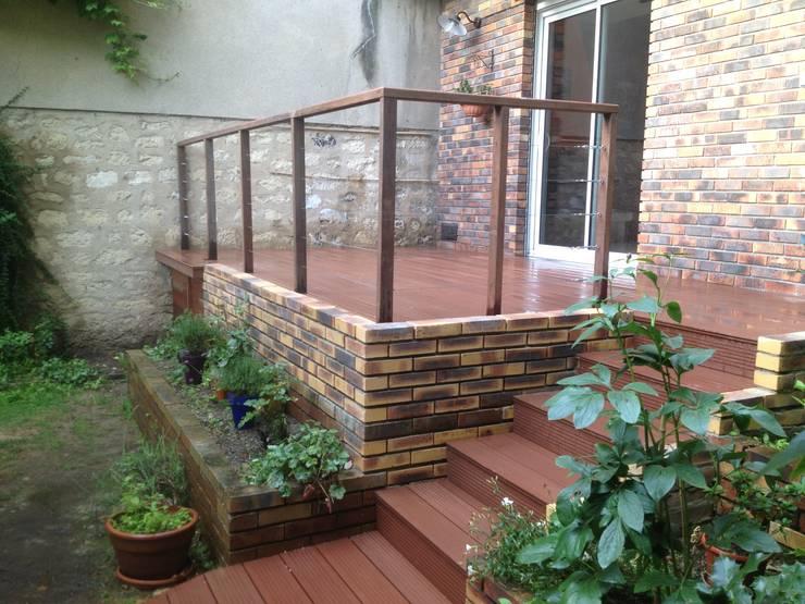 Jardins : Jardin de style  par Scènes d'extérieur