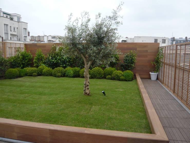 Terrasses et Balcons: Terrasse de style  par Scènes d'extérieur