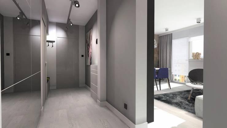 Ingresso & Corridoio in stile  di Designbox Marta Bednarska-Małek