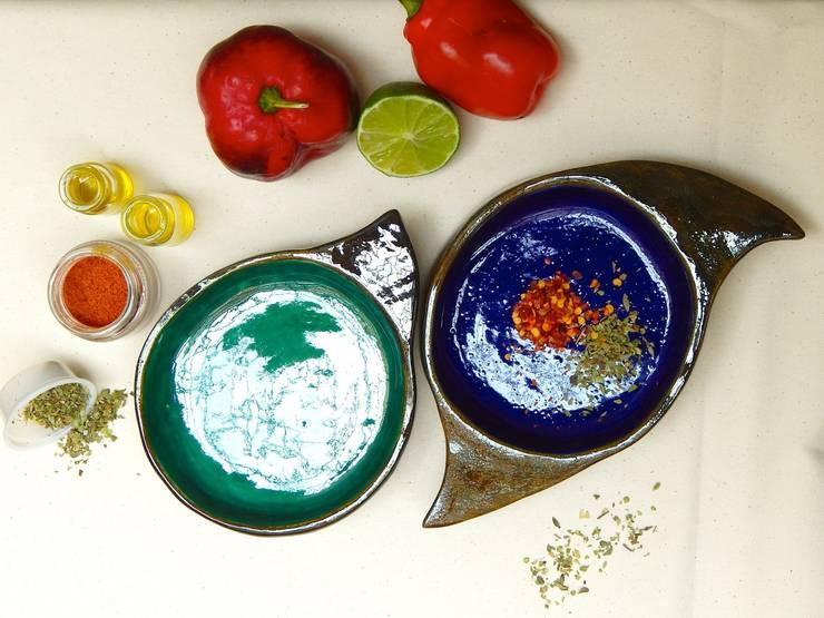 Bowl Pez: Cocina de estilo  por ManoLatina,