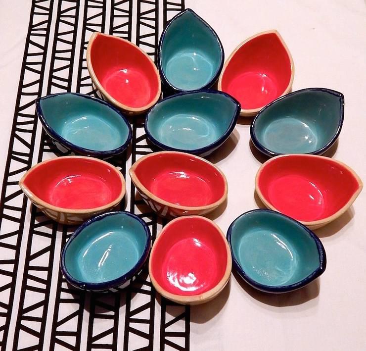 Copas para postre: Cocina de estilo  por ManoLatina,