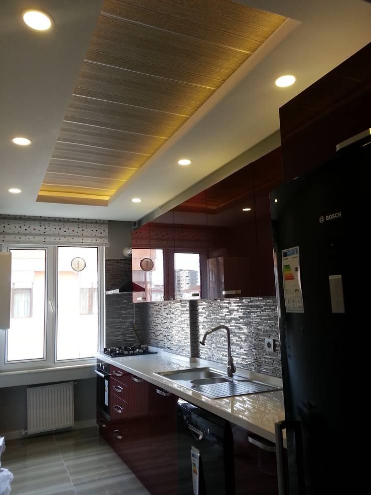 FG Mimarlık –  iç mimari tasarım ve uygulama: modern tarz Mutfak