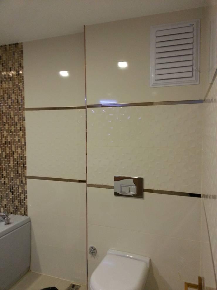 FG Mimarlık –  iç mimari tasarım ve uygulama: modern tarz Banyo