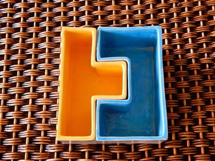 Materas Tetris: Cocina de estilo  por ManoLatina