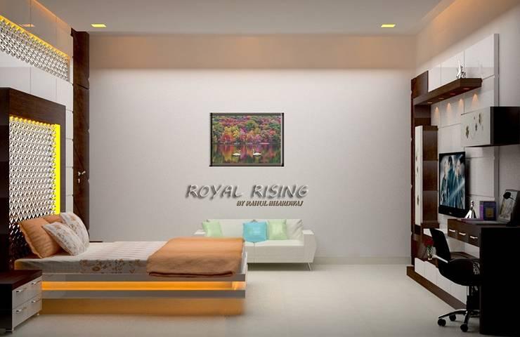 Bedroom Designs:  Bedroom by Royal Rising Interiors
