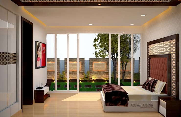 Bedroom Designs:  Bedroom by Royal Rising Interiors