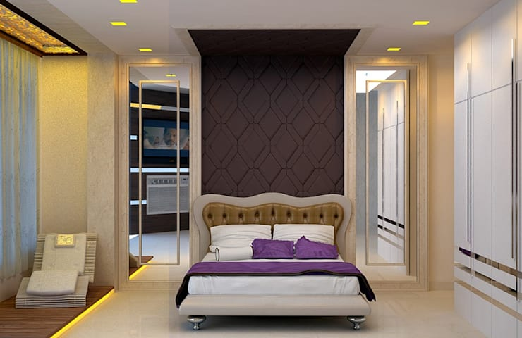 Bedroom Designs: modern Bedroom by Royal Rising Interiors