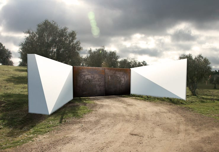 Piscina.Monte Alentejano II.Arraiolos: Casas minimalistas por BL Design Arquitectura e Interiores