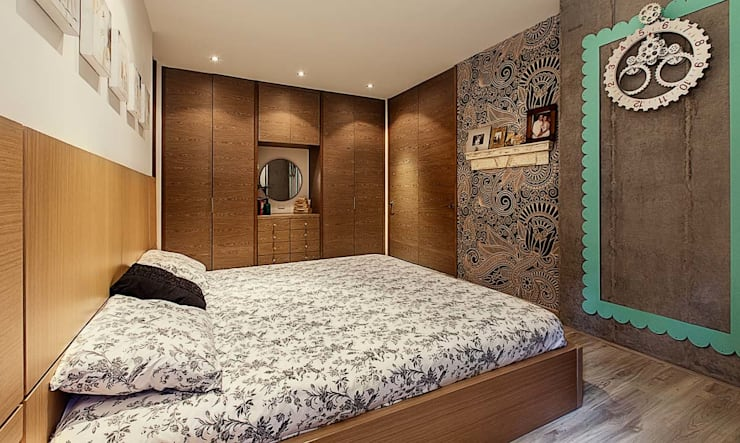 Cristina Cortés Diseño y Decoración が手掛けた寝室