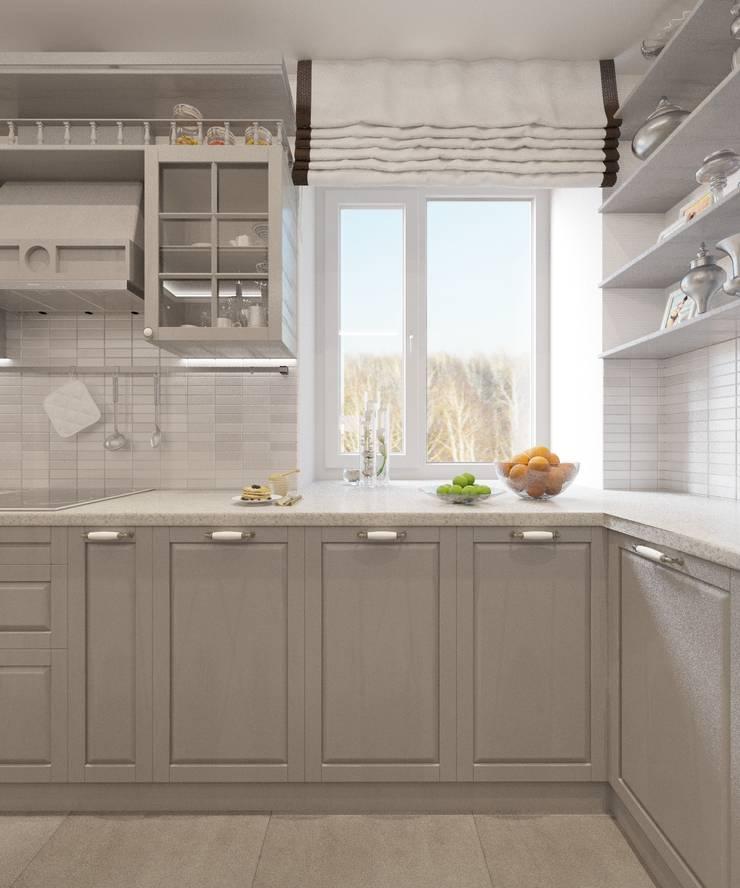 Kitchen by Студия дизайна Виктории Силаевой