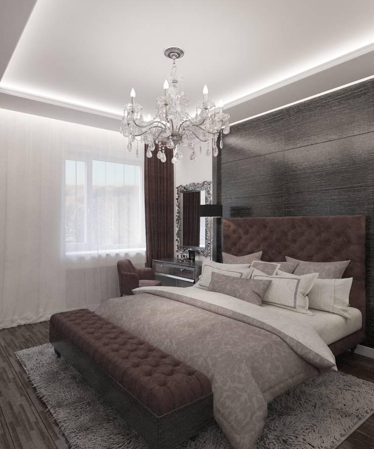 Bedroom by Студия дизайна Виктории Силаевой