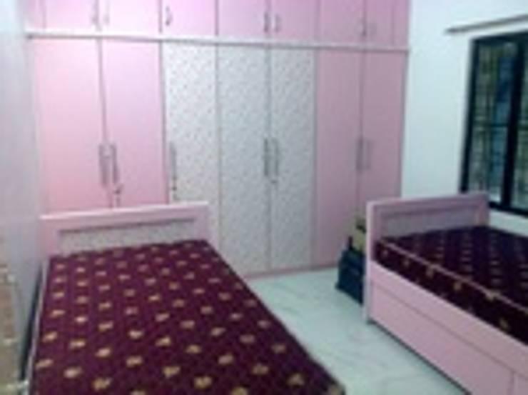 Bedroom Designs:  Bedroom by kranthi interior,Modern