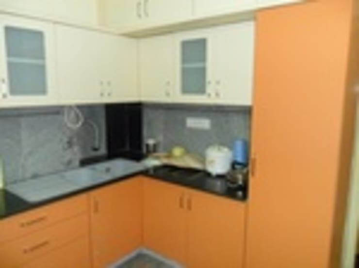 Kitchen designs:  Kitchen by kranthi interior,Modern