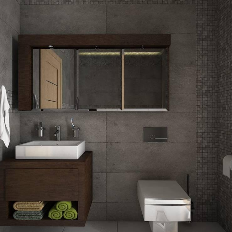 Arquitectura: Baños de estilo  por Estudio BAM
