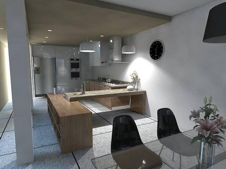 Arquitectura: Cocinas de estilo  por Estudio BAM