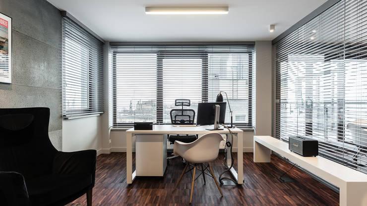 BIURO TRANSATLANTYK - GDYNIA: styl , w kategorii Biurowce zaprojektowany przez Anna Serafin Architektura Wnętrz