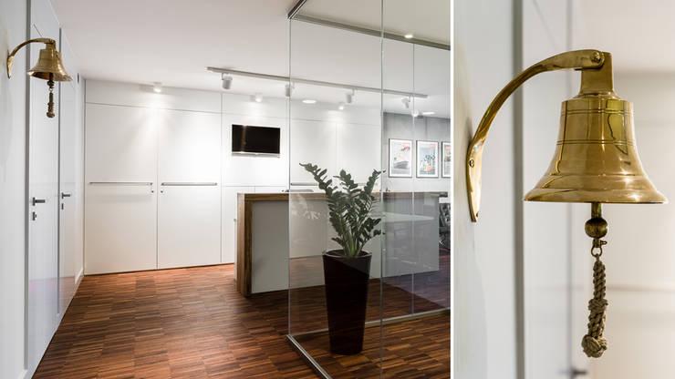 Офисные помещения в . Автор – Anna Serafin Architektura Wnętrz