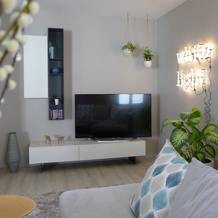 Salas / recibidores de estilo moderno por Skéa Designer
