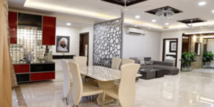 Interior Designs:  Dining room by EXOTIC FURNITURE AND INTERIORS
