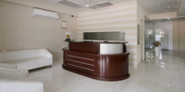 Palak Hotels:  Study/office by EXOTIC FURNITURE AND INTERIORS