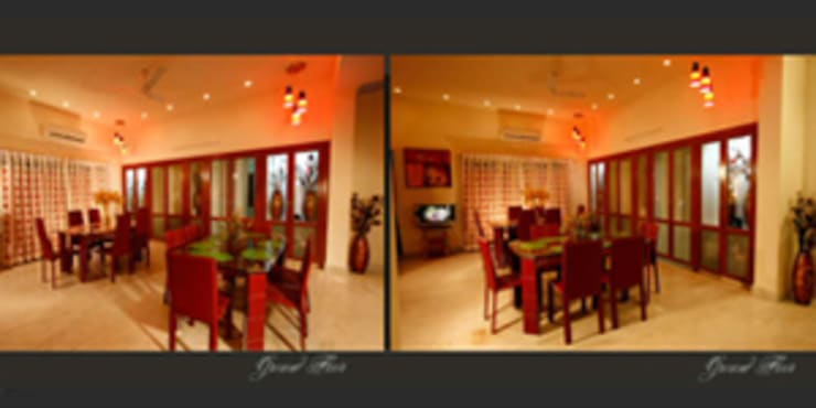 Emensee Suites: modern Dining room by EXOTIC FURNITURE AND INTERIORS