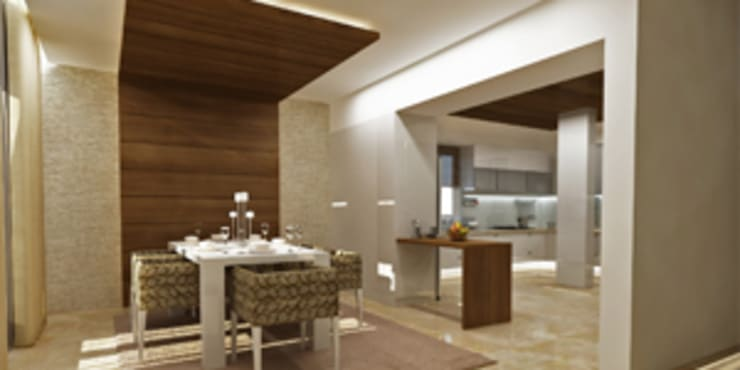 Dining room Designs: modern Dining room by EXOTIC FURNITURE AND INTERIORS