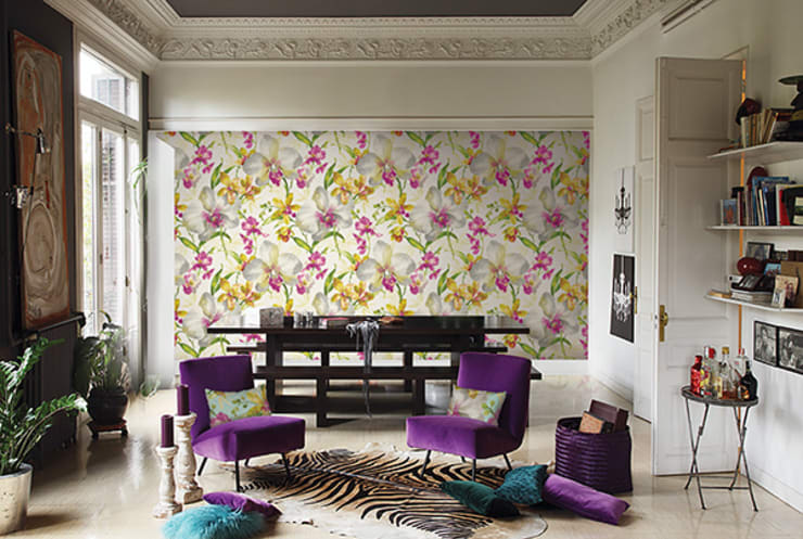 Floral:  Walls & flooring by Redskin Home Decor Pvt Ltd