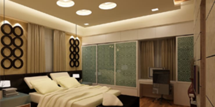 Bedroom designs:  Bedroom by EXOTIC FURNITURE AND INTERIORS