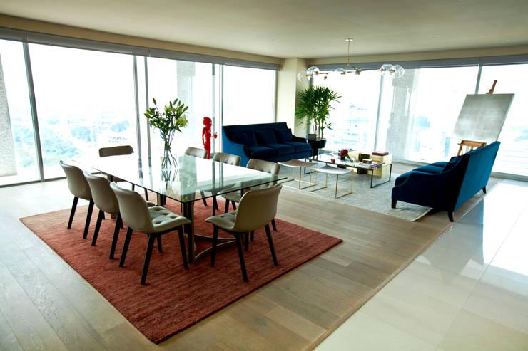 غرفة السفرة تنفيذ MAAD arquitectura y diseño