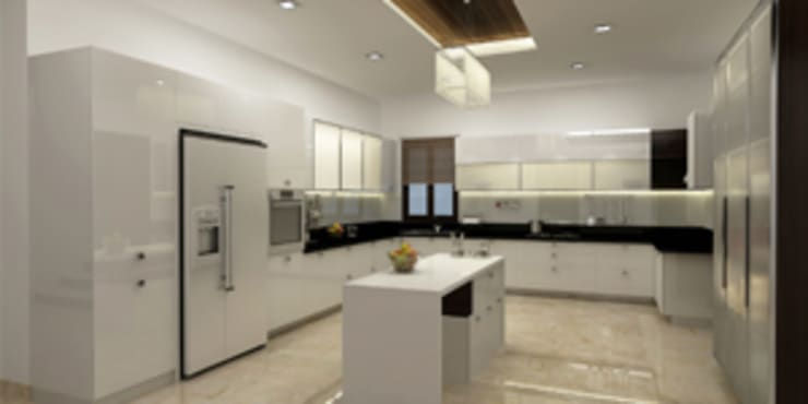 Kitchen Designs:  Kitchen by EXOTIC FURNITURE AND INTERIORS