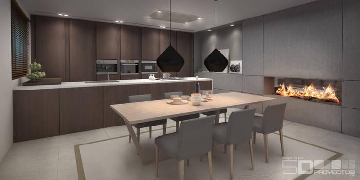 Visualizaciones 3ds - Residenciales:  de estilo  por 5D Proyectos