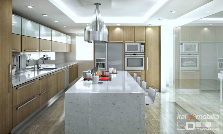 Cocina:  de estilo  por 5D Proyectos