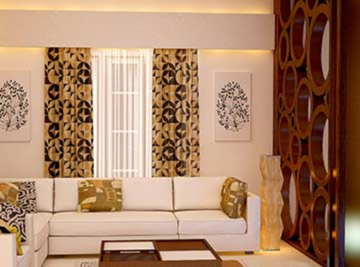 Interior designs:  Living room by my home worker,Modern