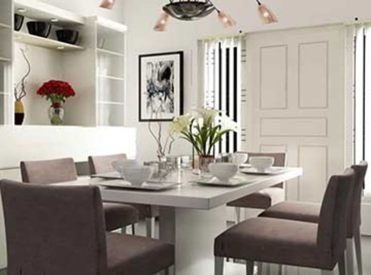Interior designs:  Dining room by my home worker,Modern