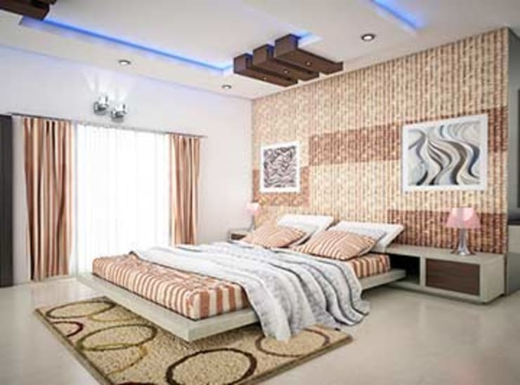 Interior designs:  Bedroom by my home worker,Modern