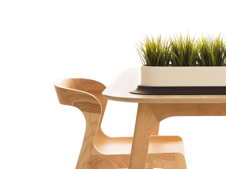 Mint by Genuino Collection: Sala de jantar  por Pedro Gomes Design