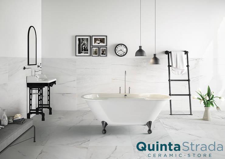 Paredes y pisos de estilo  por Quinta Strada - Ceramic Store