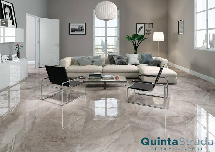 Gres effetto marmo collezione Monumental: Pareti & Pavimenti in stile  di Quinta Strada - Ceramic Store