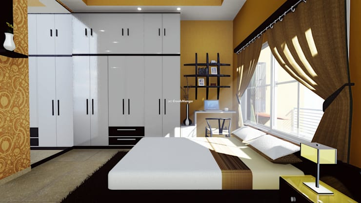 Residential Interiors:  Bedroom by Crush Mango