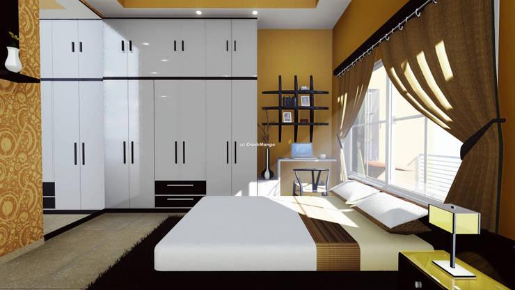 Residential Interiors: modern Bedroom by Crush Mango