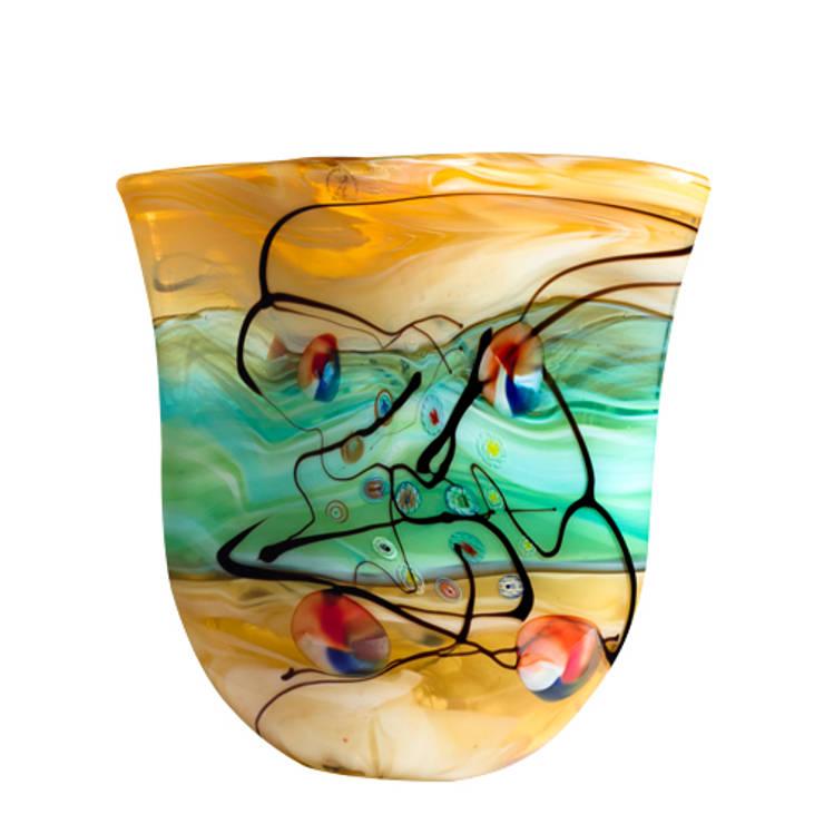 Línea de mesa: Jardines de estilo  por vizz glass