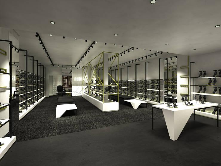inBOX shoes | Augusta: Lojas e imóveis comerciais  por STUDIO BRANZARO,