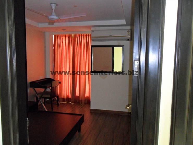 Interior designs: modern Bedroom by Sense Interiors